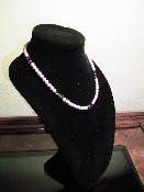 Swarovski Pink Pearls 18 inches