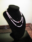 Swarovski Pink Pearls 20 inches