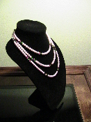 Swarovski Pink Pearls 22 inches