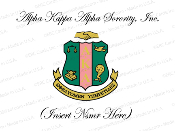 Alpha Kappa Alpha Sorority, Inc. (Shield)